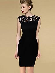 Эбигейл женская мода всего матча Bodycon платье