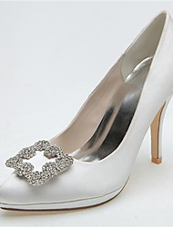 Women's Wedding Shoes Heels/Pointed Toe Heels Wedding/Party & Evening Black/Blue/Pink/Purple/Ivory/White/Silver
