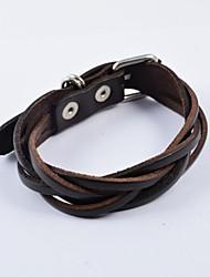fashion heren riem gesp pu lederen armbanden