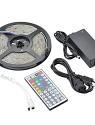 Z®ZDM Waterproof 5M 36W 150x5050 SMD RGB Light LED Strip Light Kits(DC 12V)