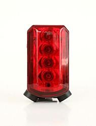 WEST BIKING® Cycling High Quality Bike RearPlastic Waterproof 5 LED Lamp Bicycle Front Rear Safety Flashlight