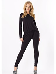 Women's Fashion Long Sleeve Slim Jumpsuits