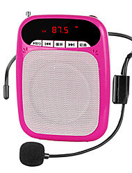 Loudspeaker Voice Amplifier Megaphone TF Support USB MP3 FM Large Power K07