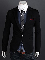 Men's Slim One Button Suit