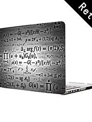 """wiskundige formules ontwerp full-body beschermende plastic geval voor 13 """"/ 15"""" macbook-pro met retina-display"""