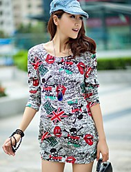 Frauen lösen Strickpullover Shirt