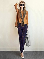 Women's Fashion Loose Suits(Shirt&Scarf&Pants)