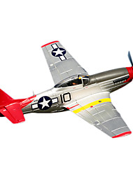 FMS p-51D v8 1.440 millimetri windspan 6ch coda rossa rc aereo