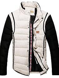 VaLS ™ Men's New Arrival Fashion Short Standard Collar Slim Winter Warm Short Coat/Jacket