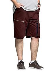 H-United™ Men's Tall&Big Size Casual Short Pants 100% Cotton Size 38 40 42 44 46 48 Plus Size Cargo Shorts