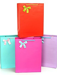 cadeaux de demoiselle d'honneur sacs-cadeaux version verticale de cadeaux dans la couleur pure (plus de couleurs)