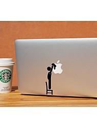 skinat novo removível diy adorável limpo o adesivo do logotipo laptop para o seu computador tablet e ar macbook 10 * 10