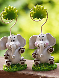 Place Cards and Holders Placecard Holders Resin Elephant