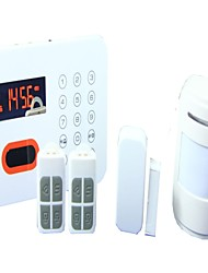 Wireless Intelligent Voice Home Alarm System PSTN Alarm System