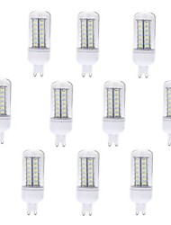 7W G9 LED лампы типа Корн T 56 SMD 5730 600 lm Тёплый белый / Холодный белый AC 220-240 V 10 шт.