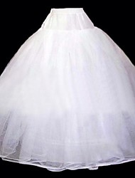 Six Tiers Floor-Length Wedding Petticoats