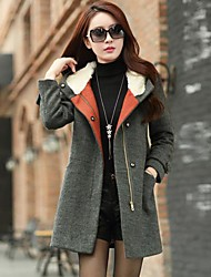 Women's Fashion Tweed Trench Coat(More Colors)