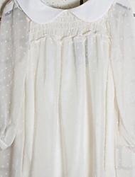 decorados de damasco princesa blusa nova chegada doce da menina pontos