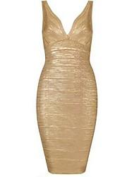 vestido de baile sexy ls de la mujer