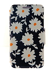 For Nokia Case Card Holder / Flip Case Full Body Case Flower Hard PU Leather Nokia Nokia Lumia 625