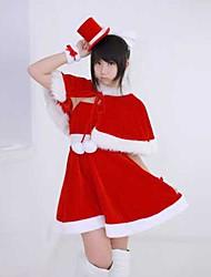 Loveplus Nene Anegasaki Cute Red Christmas Costume