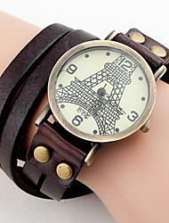 ToMoNo Cow Leather Vintage Watch