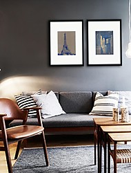 Landscape Framed Art Print Wall Art,PS Black Mat Included With Frame Wall Art