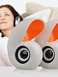 mini-audio de conque mignon haut-parleur filaire