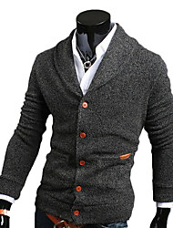 George Men's Foreign Trade Wholesale Fashion Slim V-neck Knitwear Long Sleeve Sweater