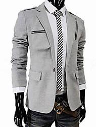 Men's Stand Collar Slim Fit Blazer