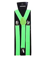 Jade Solid Nylon Suspender