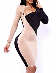 b&deep v vestido bodycon pescoço m feminino