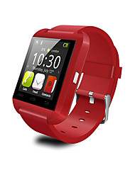 U8 Waterproof Wearable Smartwatch,Camera Message Media Control/Hands-Free Calls/Anti-lost for Android/iOS