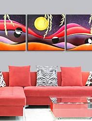 персональную электронную Home® холст печати пейзажи 30x30cm 40x40cm 60x60cm оформлена холстины набор 3