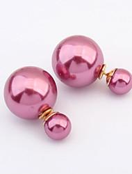 MINT Women's Double Use Pearls Decoration  Ear Rings