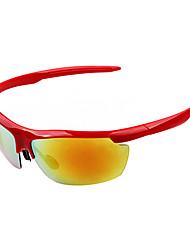 Anti-Reflective Men's Wrap Aluminum Sports Sunglasses