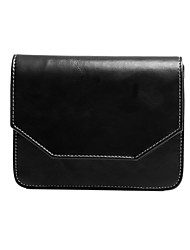 Women's PU Leather  Magnetic Button Crossbody Messenger Bag More Colors Available
