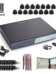 Система видеонаблюдения 16CH CCTV Kit + 16 шт. 15M камер + 1TB HDD
