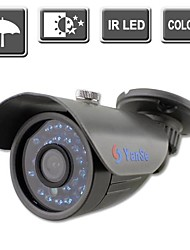 yanse® 24-LED IR Kleur CCTV-camera waterdicht vision security buitencamera's 722cc
