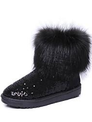 botas de piel de oveja de la moda
