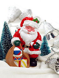 Christmas Candle Santa With Gifts ,Paraffin