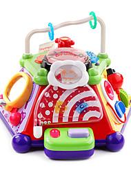 música educativa con el juguete de bloques de luz juegos multifunción bebé