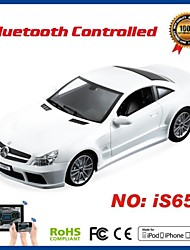 I-control Licensed Bluetooth Benz Car for iPhone, iPad and Android 1:16 iS650