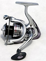 Carrete de la pesca Carretes para pesca spinningRATIO: 5.1:1 for size 1000; 5.0:1 for size 2000 and 3000; 4.7:1 for size 4000,5000 and
