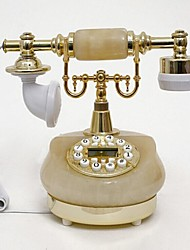 Europe Style Stone Material Home Decor Telephone with ID Display