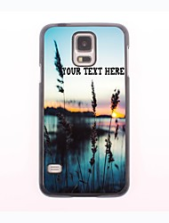 Personalized Phone Case - Grass and The Sea Design Metal Case for Samsung Galaxy S5 mini