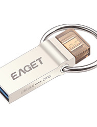 eaget V90 32GB USB3.0 OTG-stick pen drive metalen