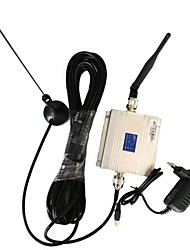 New LCD GSM 900MHz Mobile Signal Booster Amplifier + Antenna Kit
