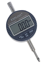 0~12.7mm 0.01mm ±3% High Precision Digital Dial Gauge Metric/Inch Measuring Tool EXPLOIT