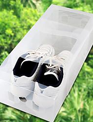 caixa de sapato de armazenamento engrossar transparente (homens) sn1267